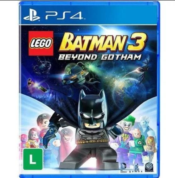 Game Lego Batman 3 Beyond Gotham Ps4 Português Novo Lacrado