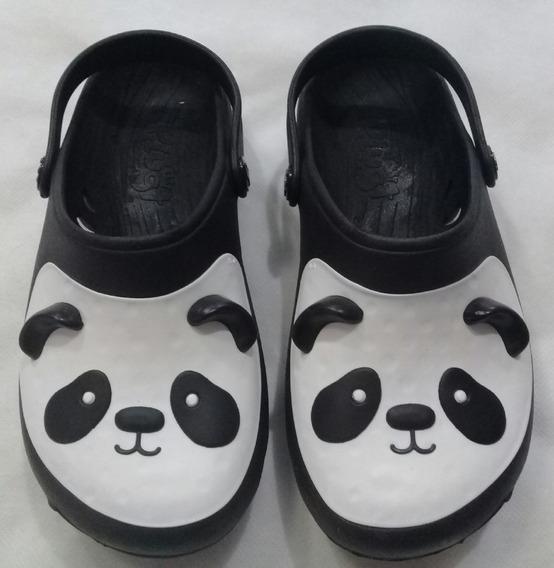 Babuche Plugt Ventor Panda Infantil