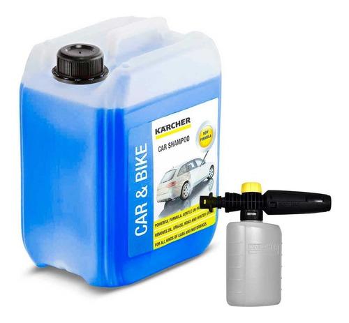 Imagen 1 de 3 de Detergente Espumador 5l + Boquilla Para Espuma Karcher Fj 6