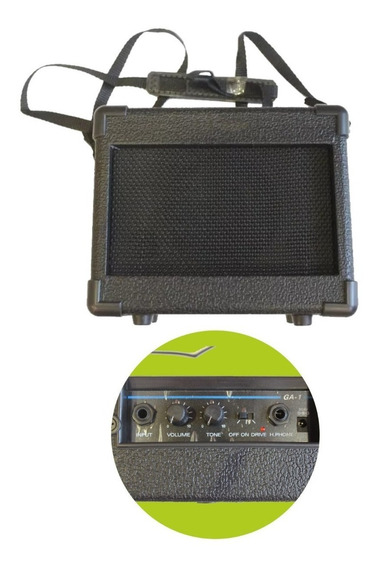 Amplificador Guitarra Parquer Ga1 5w Portatil Disto - Cuotas