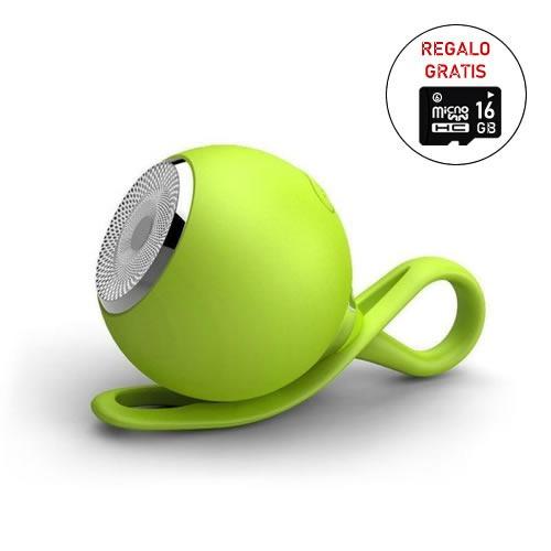 Altavoz Bluetooth Portátil C/luz Al Aire Libre Impermeable