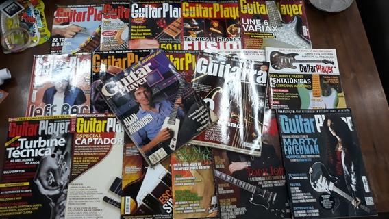 Revistas Guitar Player E Cover Guitarra 18 Exemplares