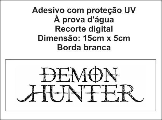 Adesivo Demon Hunter Banda White Metal Metalcore Ryan Clark