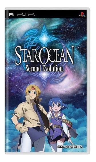 Star Ocean 2 Second Evolution Psp Mídia Física