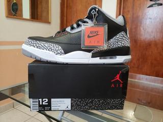 Air Jordan 3 Retro Og (black Cement)