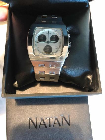 Relógio Natan Panda Swiss Chronograph Movement