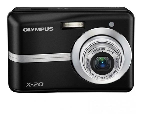 Cámara Digital Olympus X20 Compacta 10 Mpx Zoom X3 Cuotas