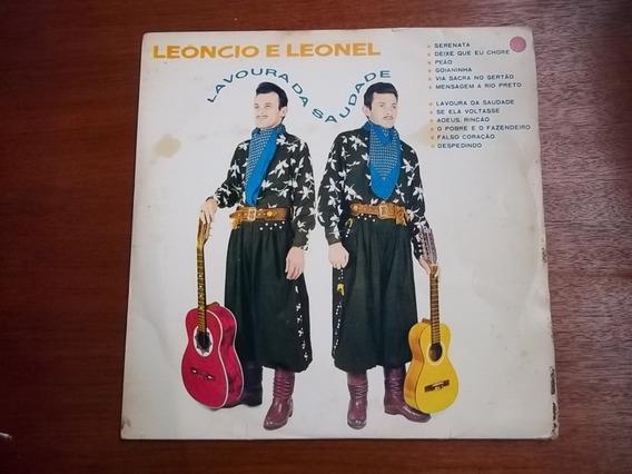 Lp Vinil Leoncio E Leonel Lavoura Da Saudade 1968 1983