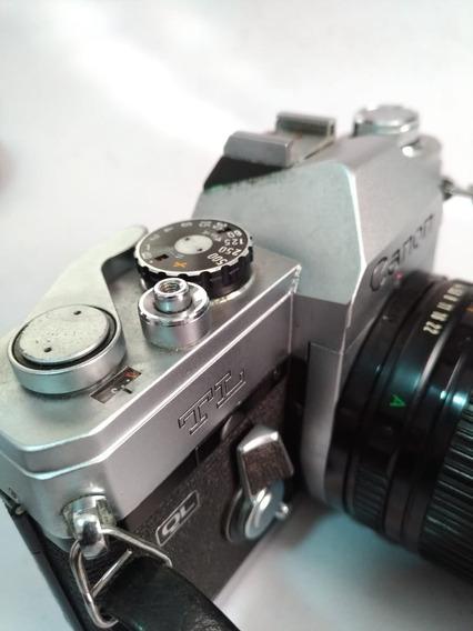 Camera Canon Ft Ql Anos 60 70 Mecânica Ok