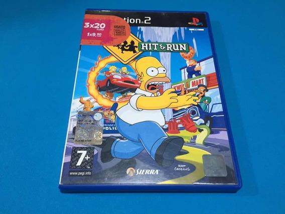 The Simpsons Hit & Run Gta - Original Europeu Ps2 Usado