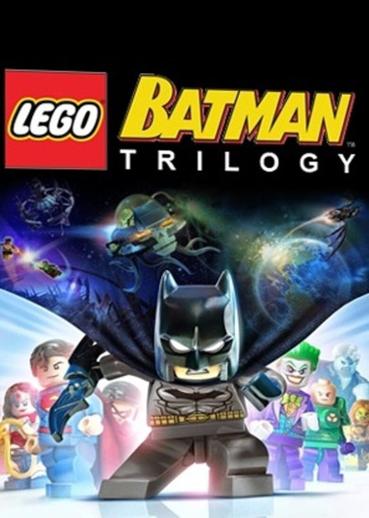 Lego Batman -trilogy Pc Steam Key Global Código 15 Dígitos
