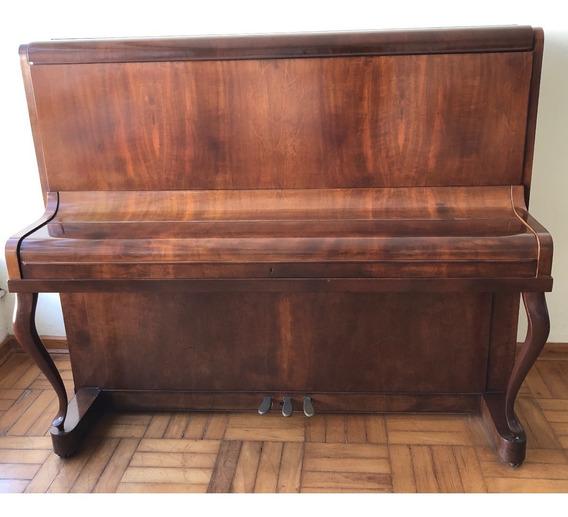 Piano Acústico Vertical/de Armário J.hoelzl Excelente Estado