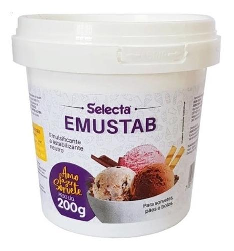 Emulsificante Para Sorvete Emustab 200g C/ 3 Unidades