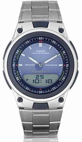 Relógio Casio Standard Digi/ana Aw-80d-2avd