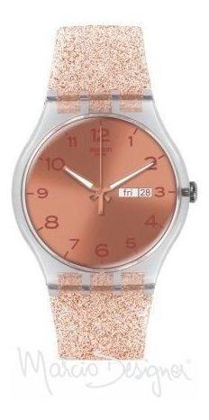 Swatch Pink Glistar Suok703