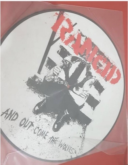 Lp - Rancid - And Out Come The Wolves - Picture Disc