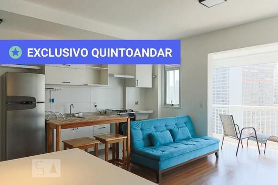 Studio No 22º Andar Mobiliado Com 1 Dormitório E 1 Garagem - Id: 892984903 - 284903