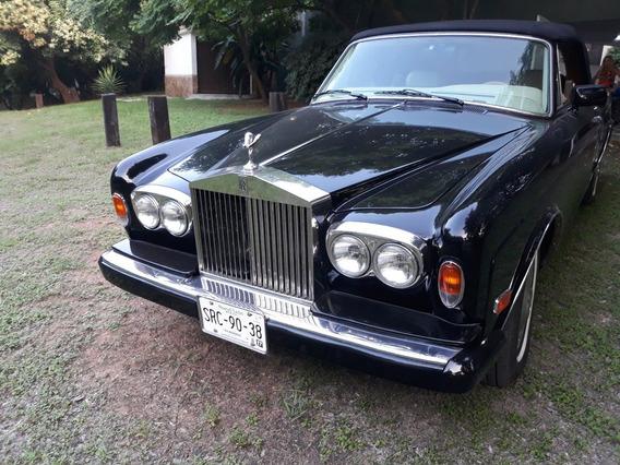 Rolls Royce Convertible 1986 Muy Bien Cuidado Para Conocedor