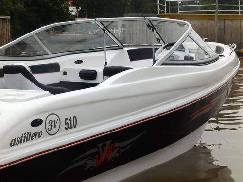 Lancha 3v Nueva Open 510 Evinrude 60 Stock13 Nautica Milione