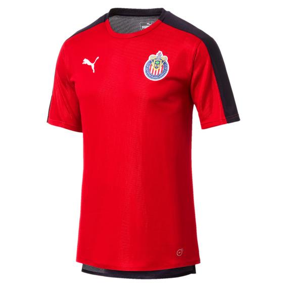 Playera Chivas - Puma - 754025 02 - Roja Hombre