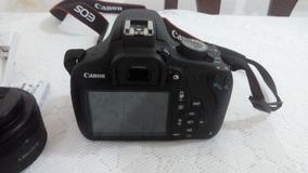 Máquina Fotográfica Canon Equipamento Completo