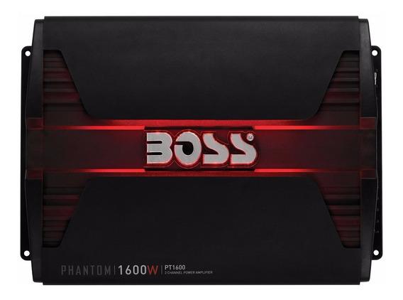 Potencia Boss Audio Phantom 1600w 2 Canales Led Rojo Control