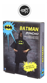 Poncho Batman Impermeable Dc Comics Oficial Paladone