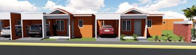 Buena Casa En Residencial Doña Luz Villa Mella A Buen Precio