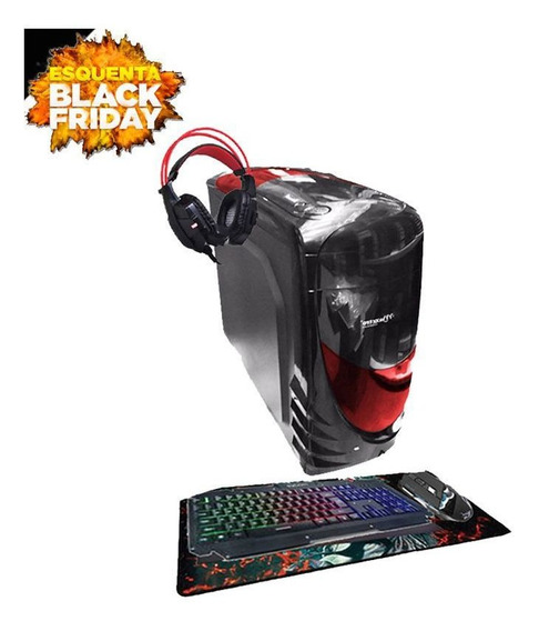Pc Gamer Aires Intel Gpu R7 240 8gb Hd 500gb Black Friday