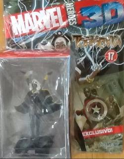 Figuras Heroes Marvel 3d Nro 17 Tormenta Edit Salvat.