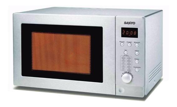 Microondas Grill Sanyo EMGX2814 acero inoxidable 28L 220V