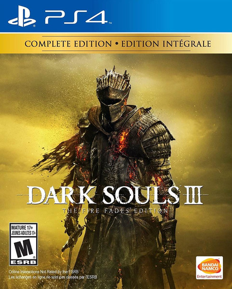 Dark Souls 3 The Fire Fades Edition - Ps4 - Pronta Entrega!