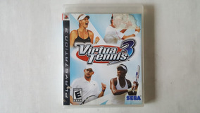 Virtua Tennis 3 - Ps3 - Original - Mídia Física