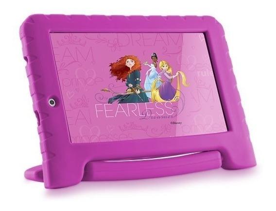 Tablet Infantil Educativo Wifi 7 Android Princesas Disney