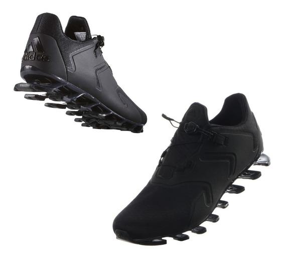 Tenis adidas Springblade Solyce Negro Hombre Run Originales