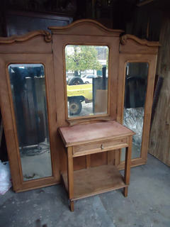 Toilet Recibidor Colonial Tres Esejos Mesa Escritorio D 1252