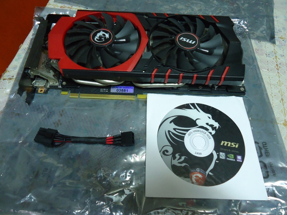 Placa De Video Msi Geforce Gtx 980 Gaming 4gb 256 Bits 100%