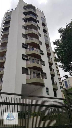 Apartamento Com 3 Dormitórios À Venda, 120 M² Por R$ 1.350.000,00 - Moema - São Paulo/sp - Ap3162