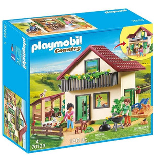 Playmobil Casa De Campo 70133 Muñecos Animales Y Acc Edu