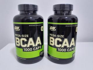 Kit 2x Bcaa Optimum Nutrition 200 Caps Importado Original!