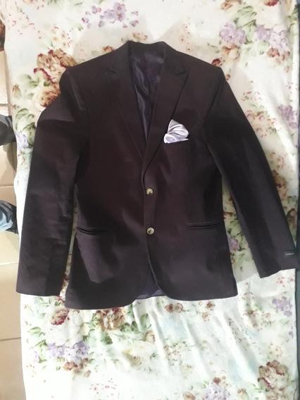 Saco (traje) Color Vino, Talle 42, Muy Buen Estado.