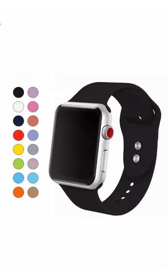 Extensible Correa Apple Watch Silicon Serie 1-4