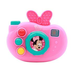 Brinquedos Para Meninas Câmera Disney Baby Minnie Rosa Dican