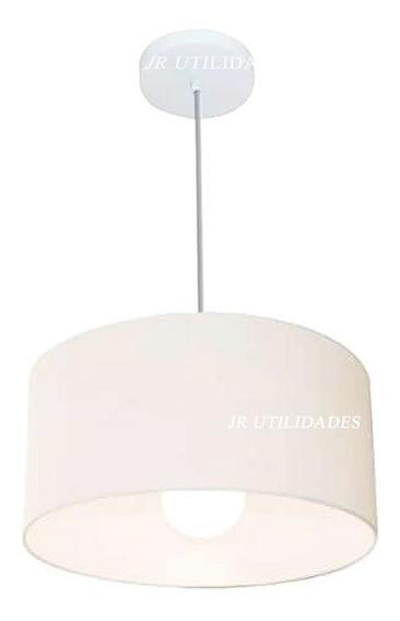 Luminária Pendente De Teto Cupula De 35x25 Cm