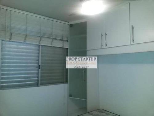 Imagem 1 de 19 de Apartamento Com 1 Dormitório Para Alugar, 35 M² Por R$ 1.600/mês - Perdizes - Propstarter - Ap0721