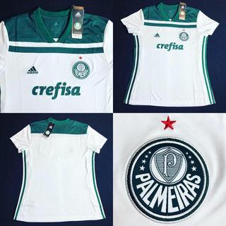 Camisa Palmeiras 2018 Away Feminina Tam P M G