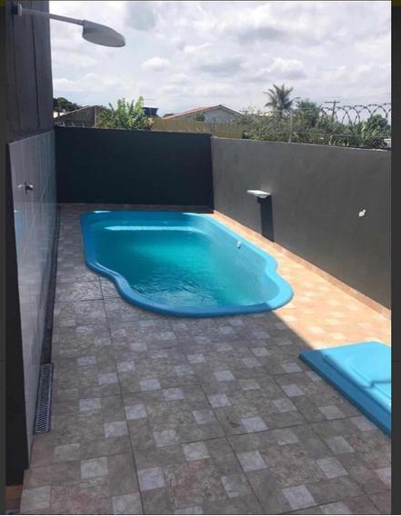 Casa Barata Em Itanhaém Com 1 Quarto - Lado Praia - 5865 Ps
