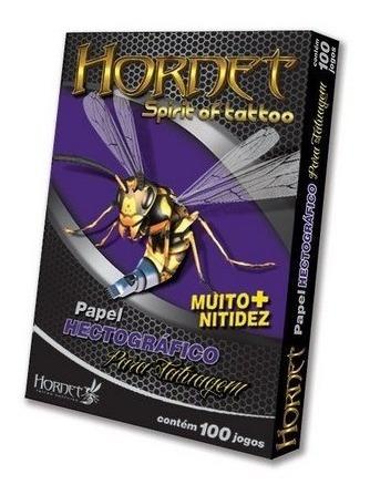 Papel Hectográfico Hornet Spirt Tattoo Tds C/ 100 Un