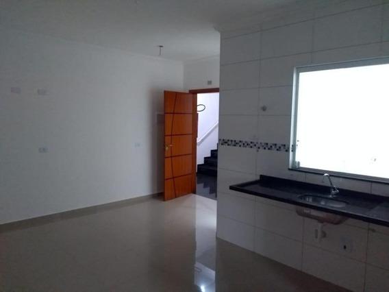Cobertura Com 2 Dormitórios Para Alugar, 75 M² Por R$ 1.100,00/mês - Jardim Utinga - Santo André/sp - Co3568