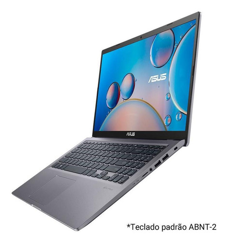 Imagem 1 de 4 de Notebook Asus M515da-ej502t Cinza